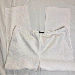 Ralph Lauren Sz 20 white flat front pants